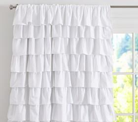 Ruffle Blackout Curtain