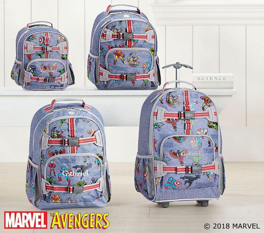 5c391b357bb2 ... Marvel™ Glow-in-the-Dark Avengers Backpacks ...