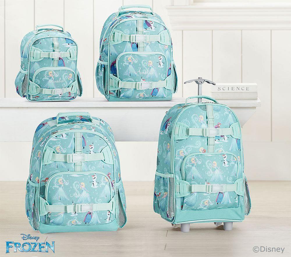 Mackenzie Aqua Disney Frozen Backpacks | Pottery Barn Kids