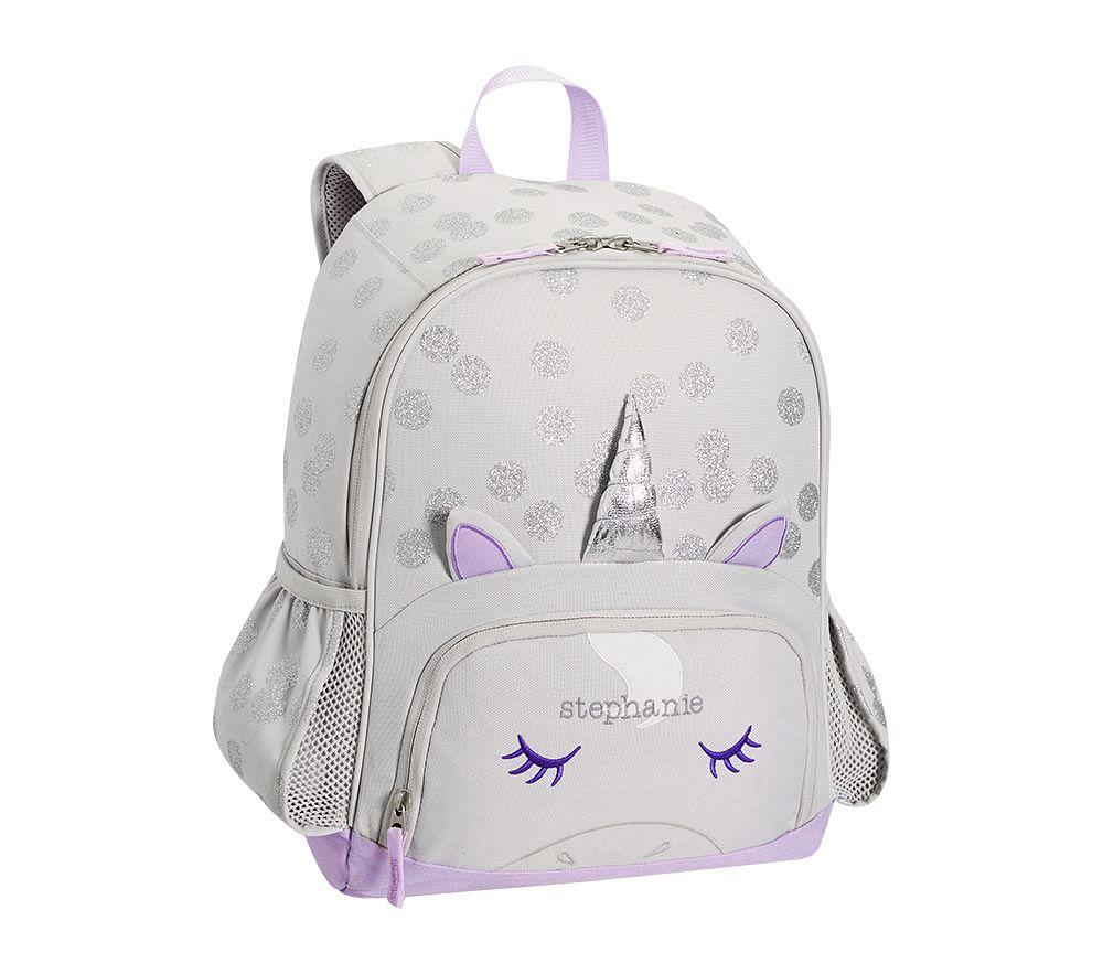 Mackenzie Grey Unicorn Backpack Pottery Barn Kids Au