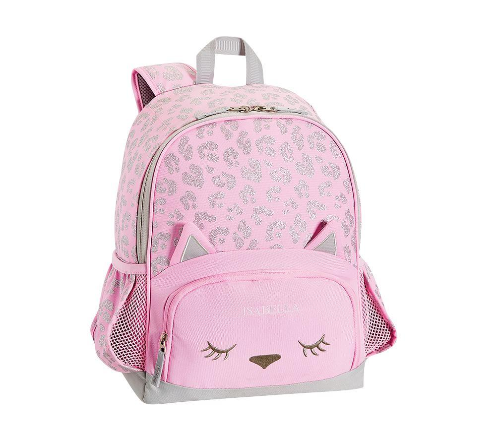 Mackenzie Pink Glitter Kitty Backpack Pottery Barn Kids Au