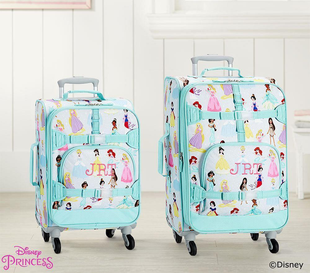 Mackenzie Aqua Disney Princess Luggage | Pottery Barn Kids