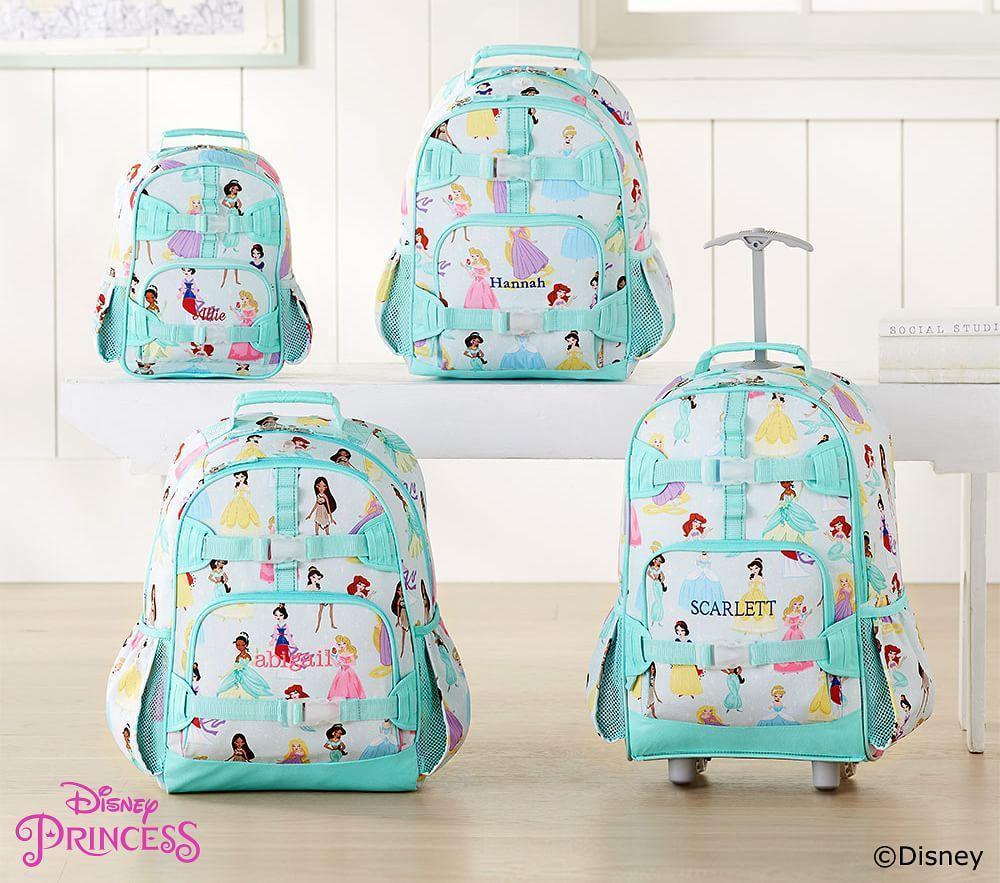 2254f3c03b Mackenzie Aqua Disney Princess Backpack
