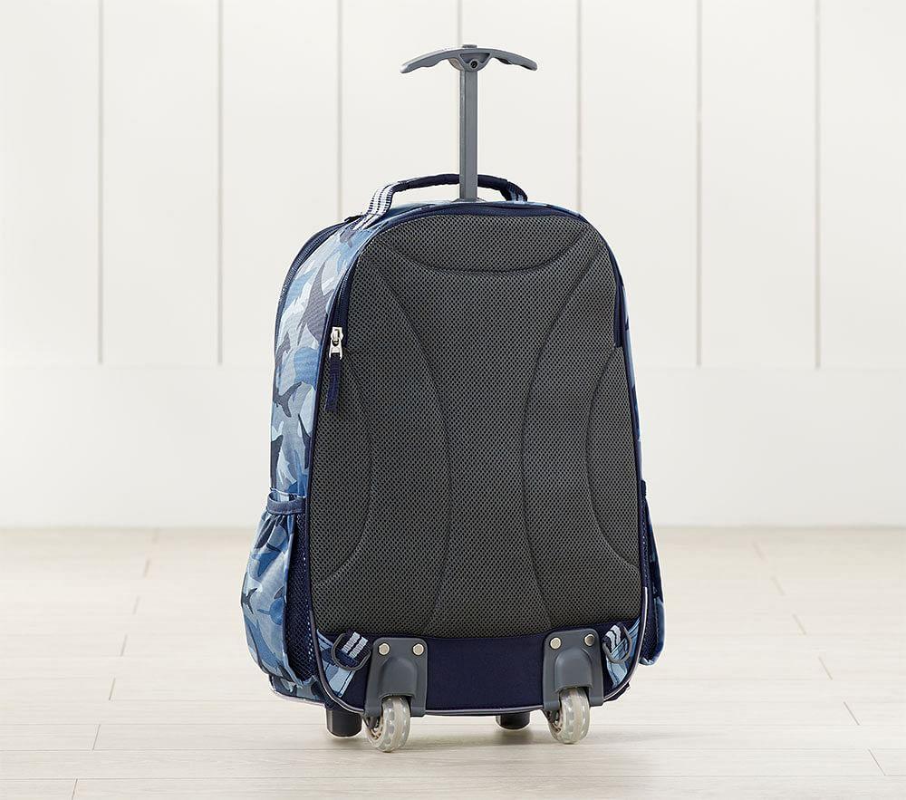 Mackenzie Blue Dino Glow-in-the-Dark Backpack