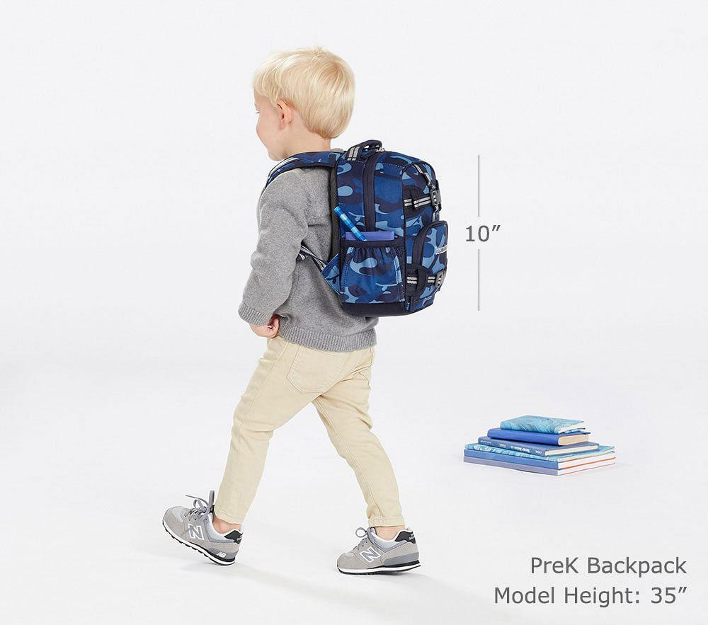 Mackenzie Blue Multicolor Dino Backpack Pottery Barn Kids Au