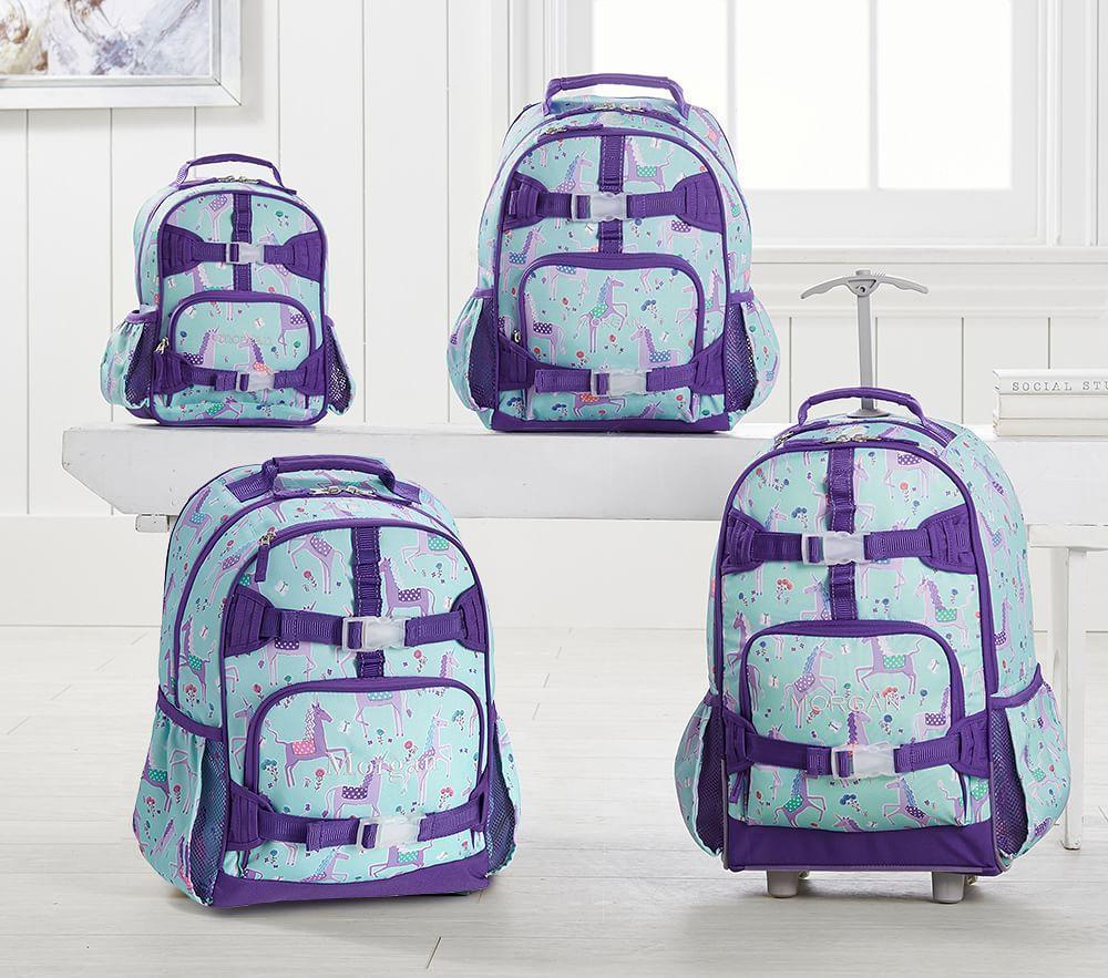 Mackenzie Aqua/Purple Unicorn Collection