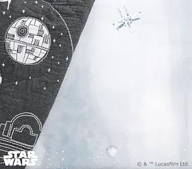 <em></div>Star Wars</em>™ Picture Perfect Death Star Cot Fitted Sheet