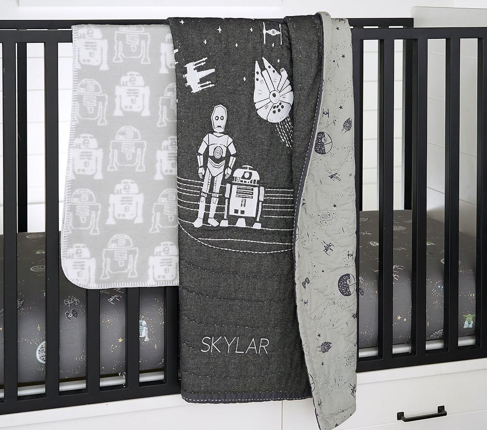 Star Wars™ Allover Sky Cot Fitted Sheet