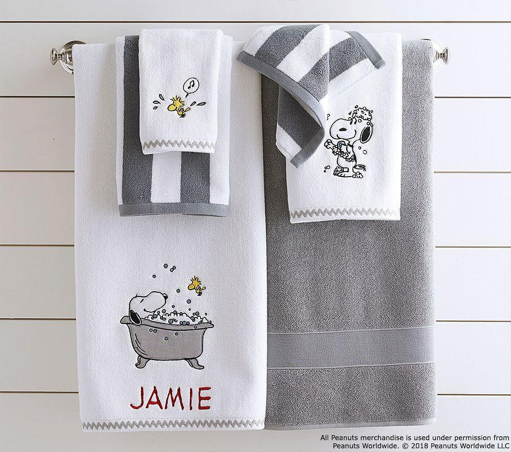 Peanuts® Bath Towel Collection