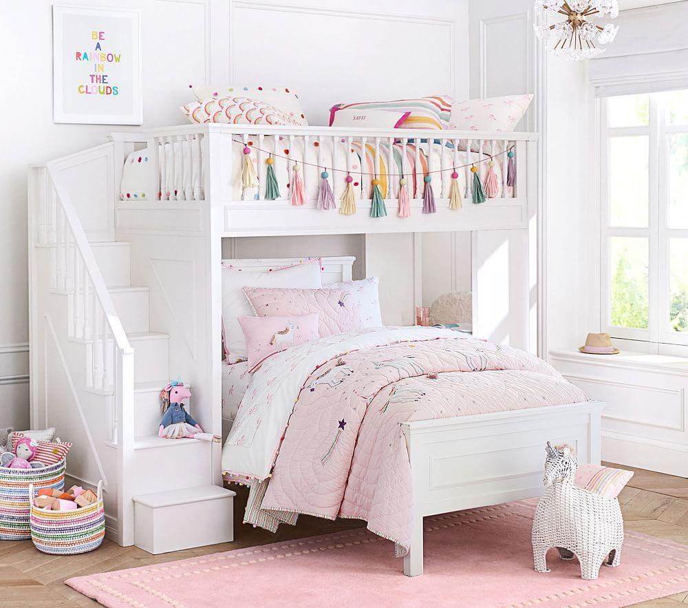 Rainbow Unicorn Comforter | Pottery Barn Kids AU