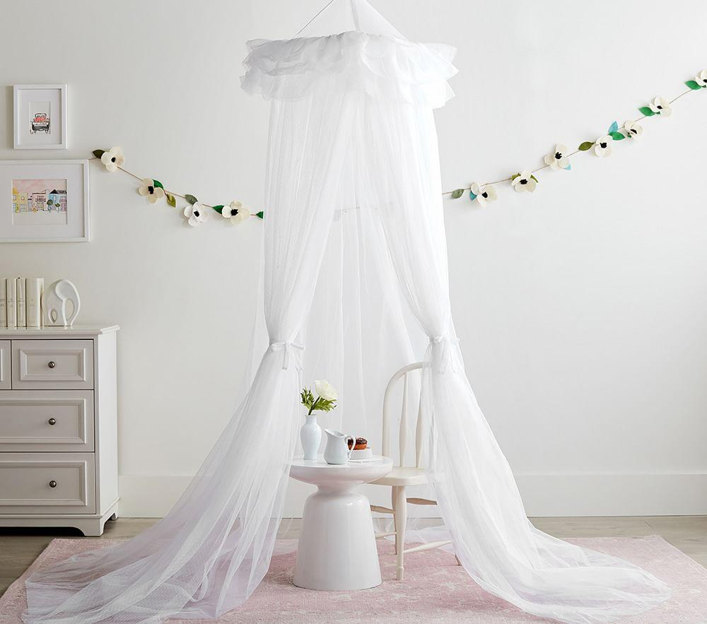 Tulle Dot Canopy