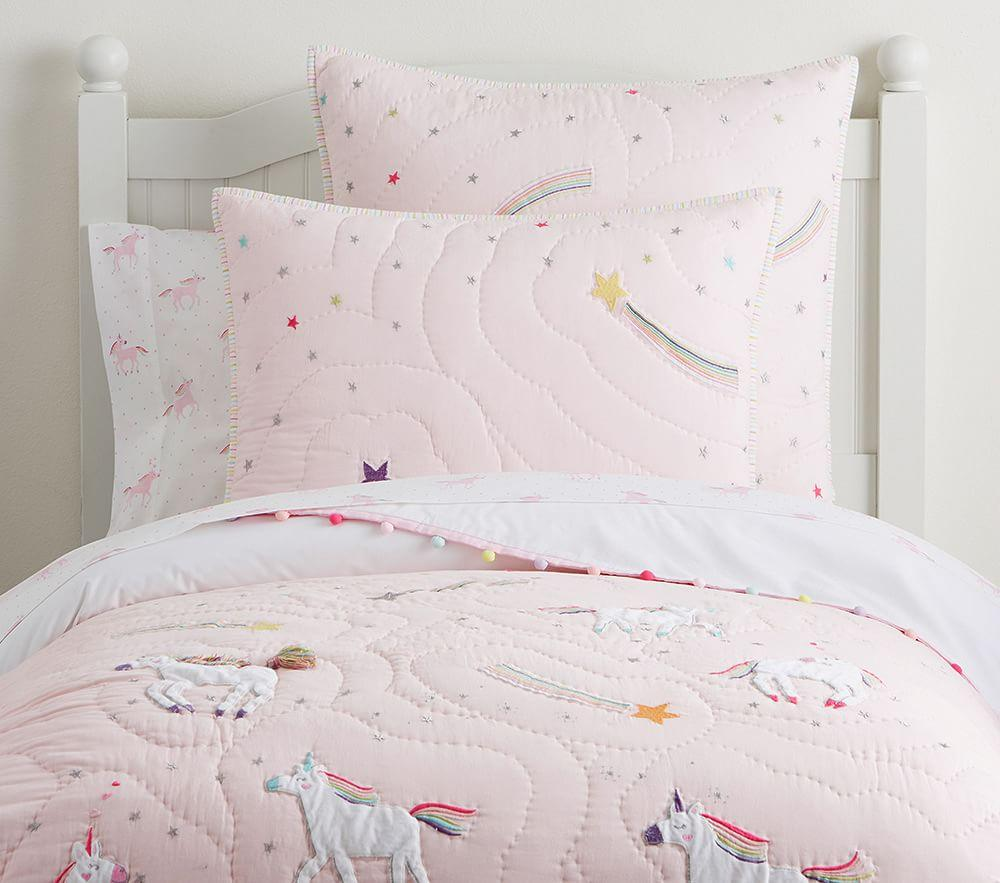 Rainbow Unicorn Comforter | Pottery Barn Kids AU