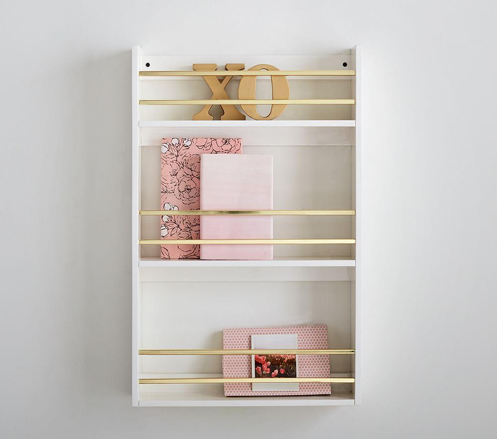 Polished Shelving Bookrack