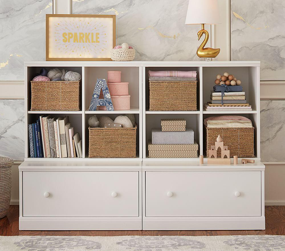 Cameron 2 Cubby Amp 2 Drawer Base Storage System Pottery