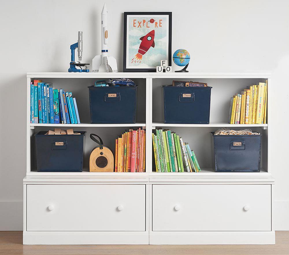 Cameron 2 Bookcase Cubby & 2 Drawer Base Set