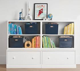Cameron 2 Bookcase Cubby & 2 Drawer Base Set