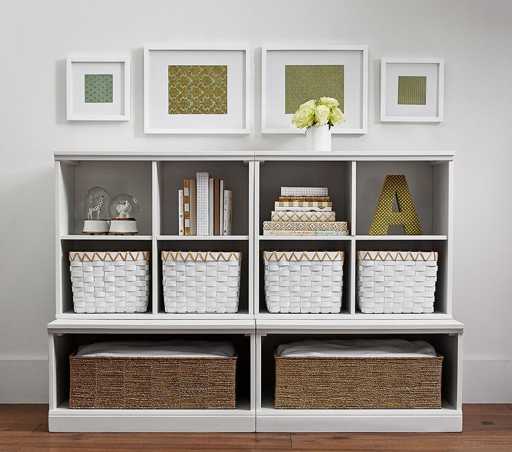 Cameron 2 Cubby & 2 Open Base Storage System