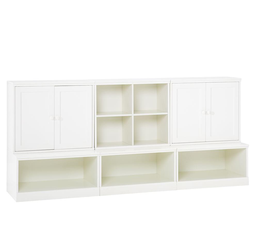 Cameron Low Storage System with Open Bases