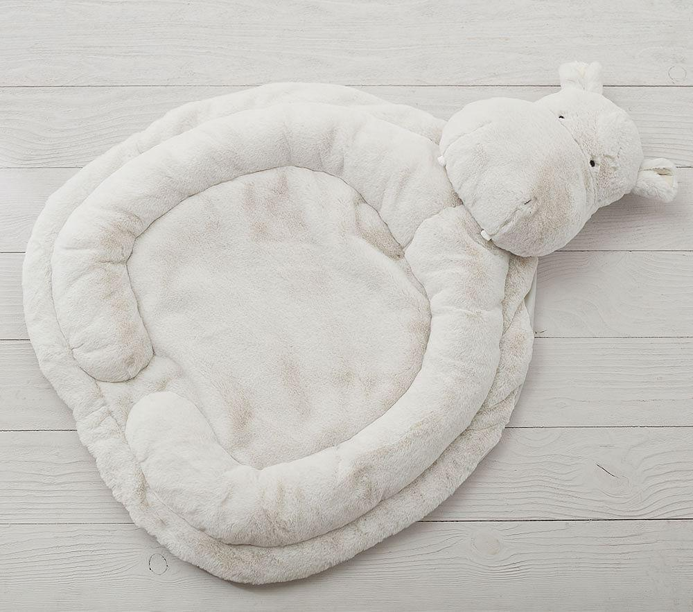 Grey Hippo Interactive Nursery Playmat