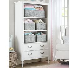 Blythe Bookcase - French White