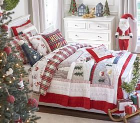 Christmas Stockings Ornaments Decor Bed Linen Pottery