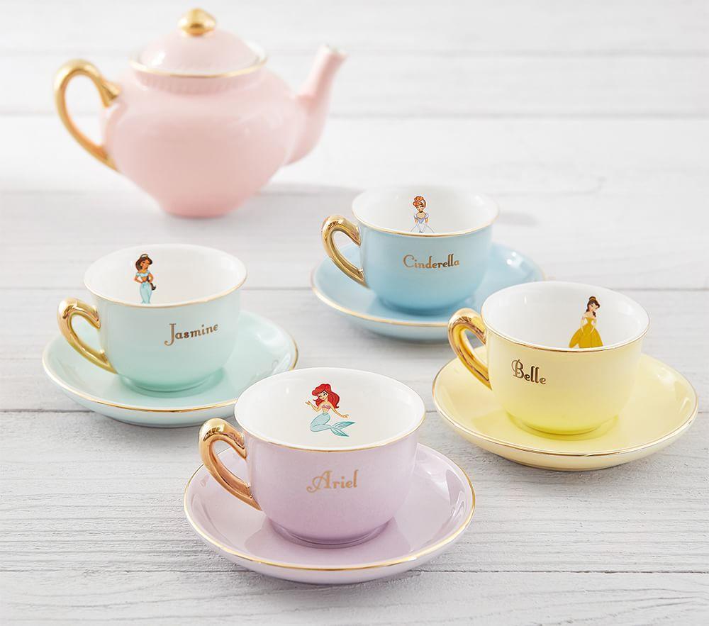 Porcelain Princess Tea Set