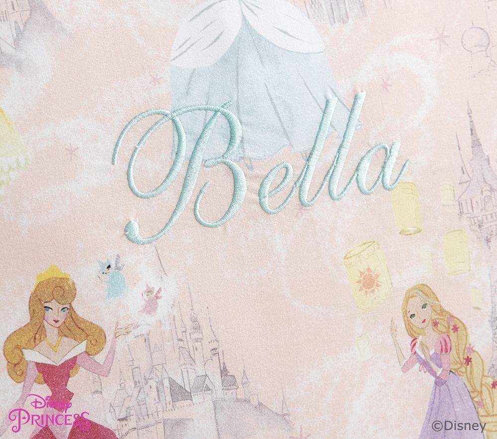 Organic Disney Princess Castles Quilt Cover