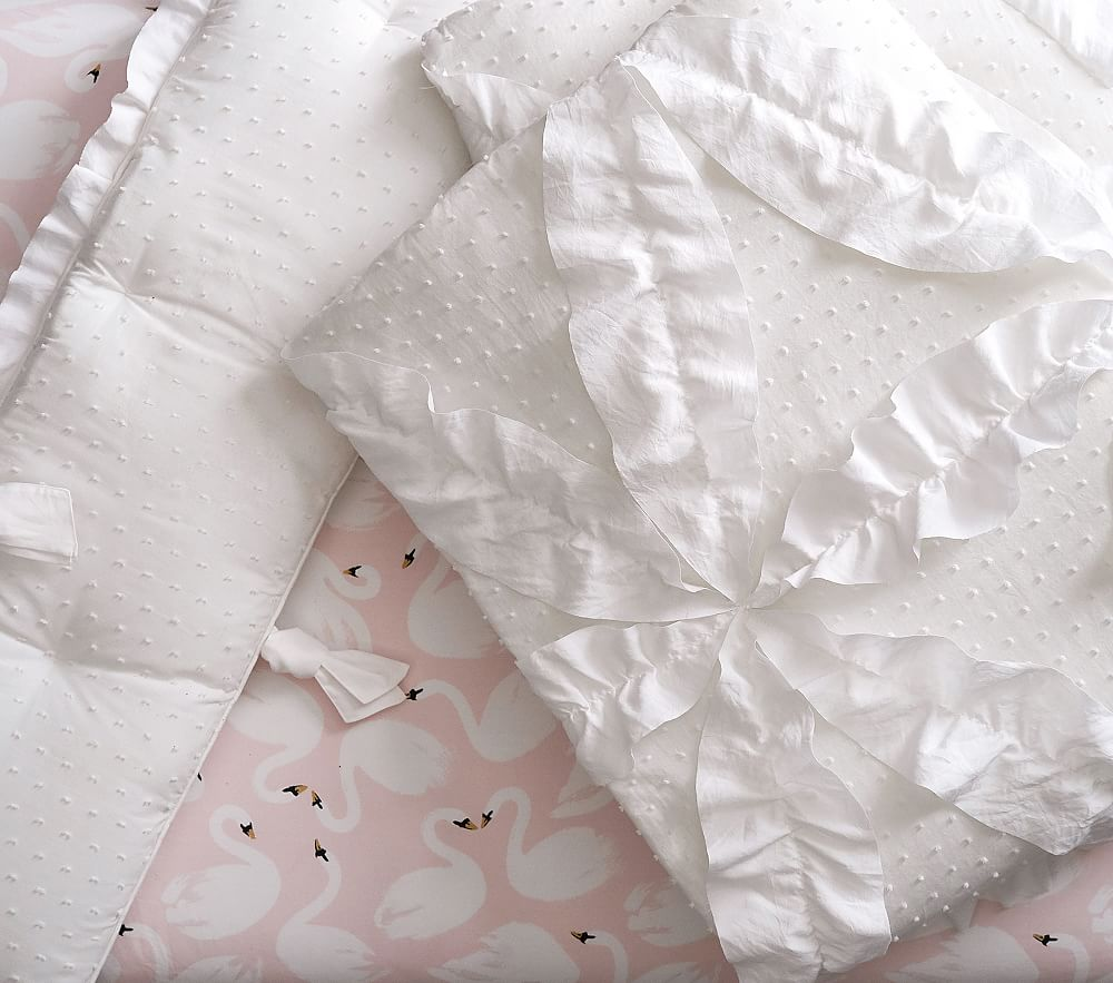 The Emily & Meritt Swan Lake Baby Bedding