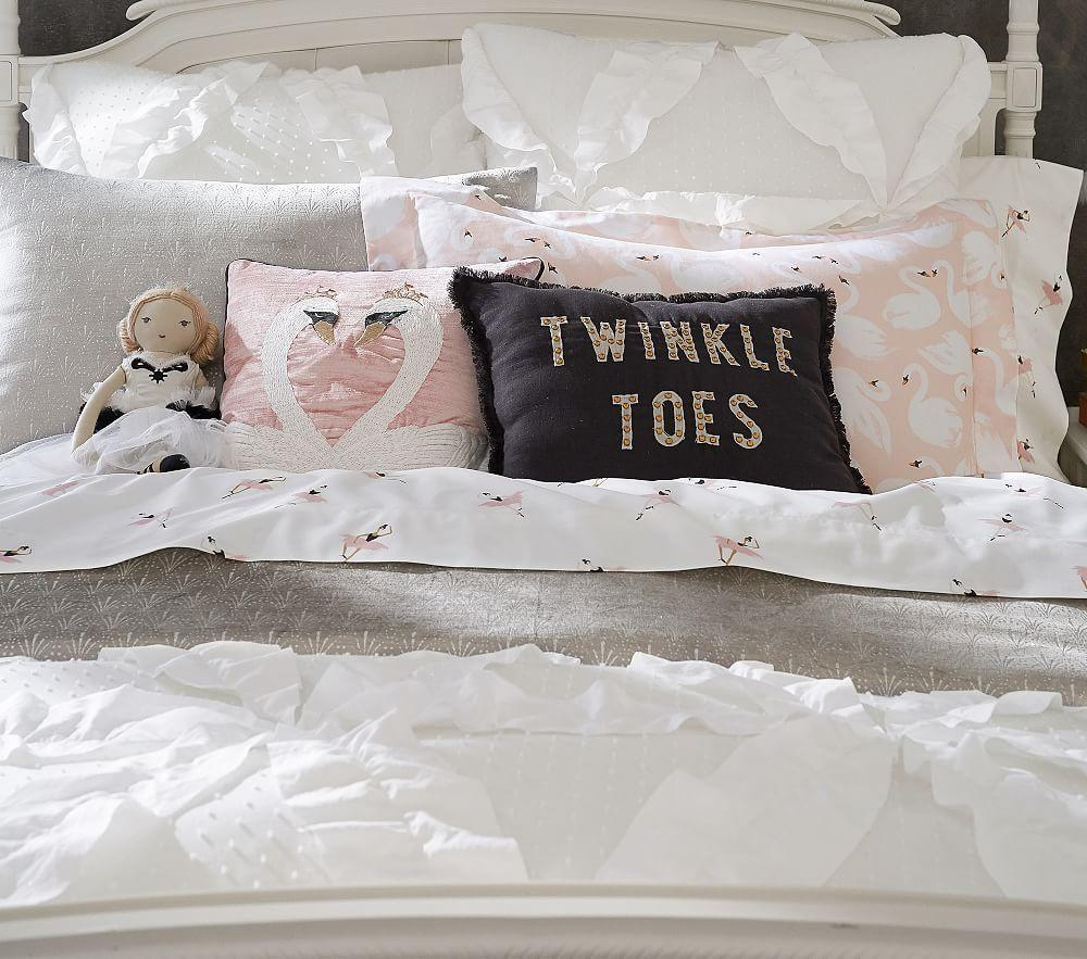 The Emily & Meritt Twinkle Toes Cushion
