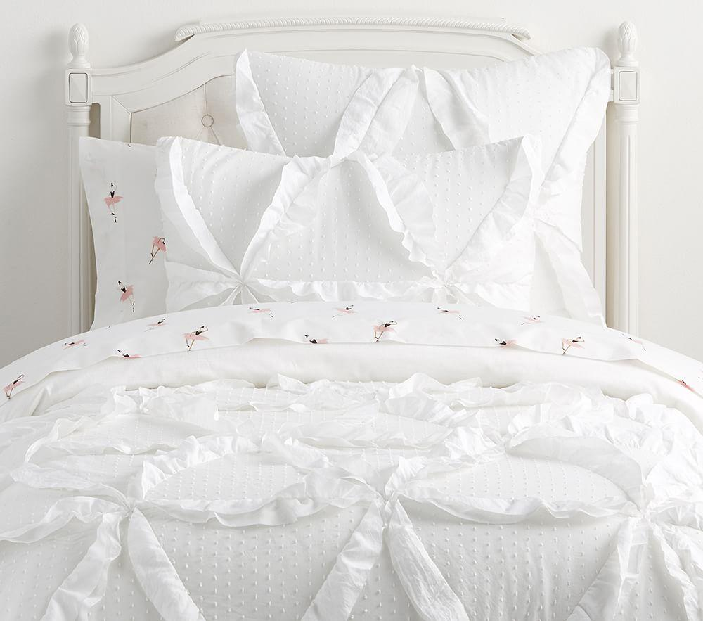 The Emily & Meritt Swiss Dot Comforter