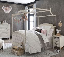 Emily & Meritt Swan Lake Bedroom