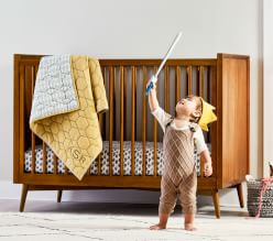 west elm x pbk Midcentury Playful Nursery