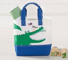 Alligator Preppy Icon Tote