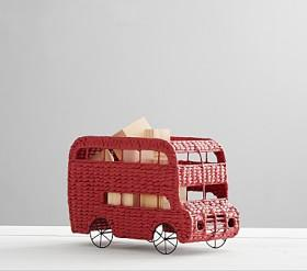 Double Decker Bus Shaped Storage