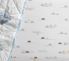 Mason Cars Cot Fitted Sheet