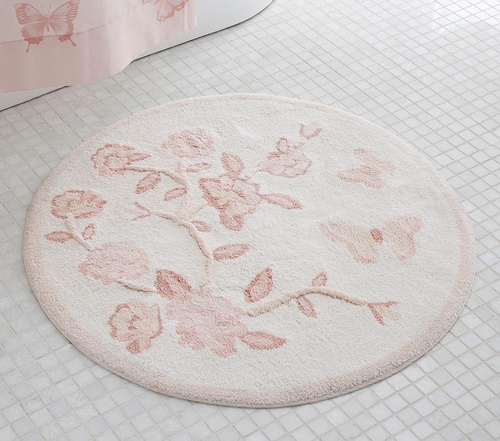 Monique Lhuillier Floral Bath Mat