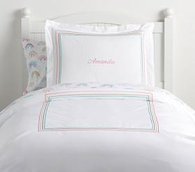 Organic Grand Embroidered Quilt Cover