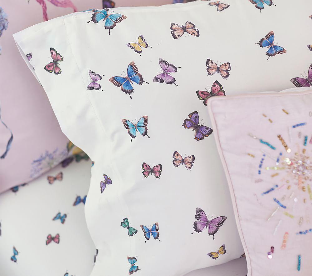Monique Lhuillier Organic Butterfly Sheet Set