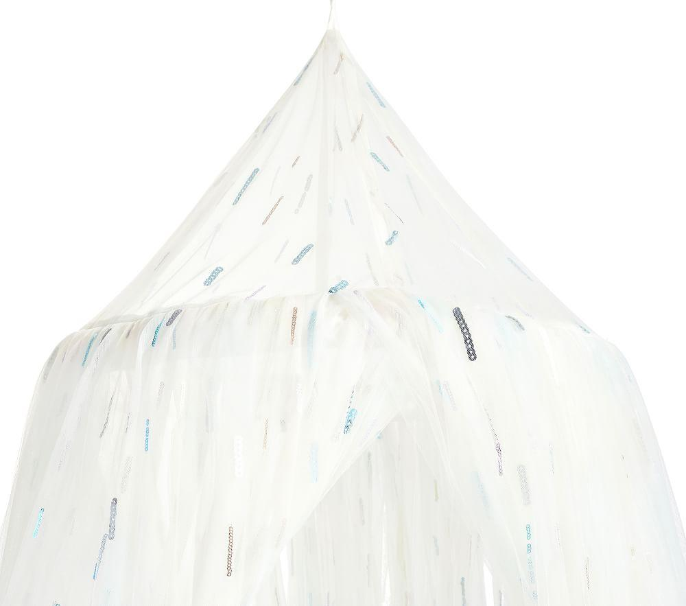 Monique Lhuillier Rainbow Sequin Canopy
