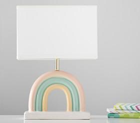 Ceramic Rainbow Lamp
