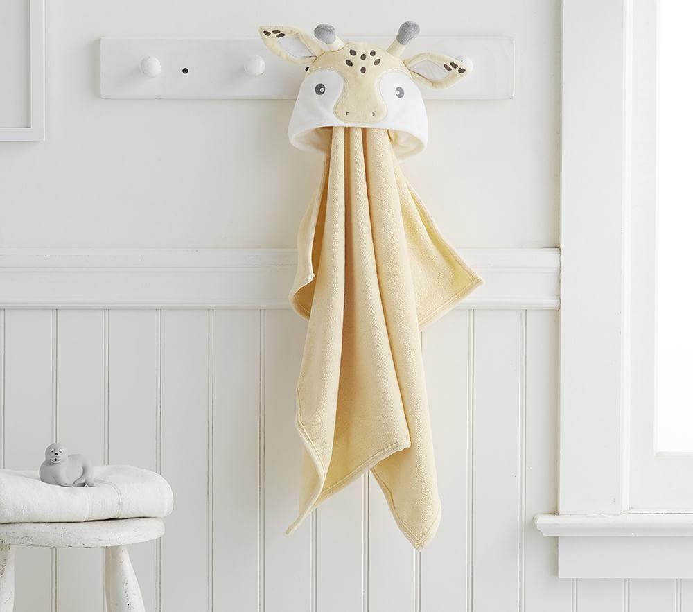 Giraffe Baby Bath Wrap