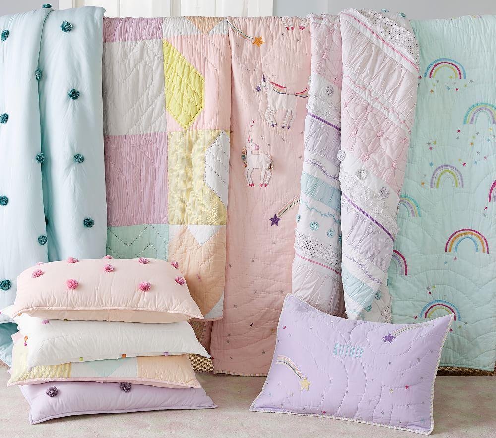 Heart Patchwork Comforter