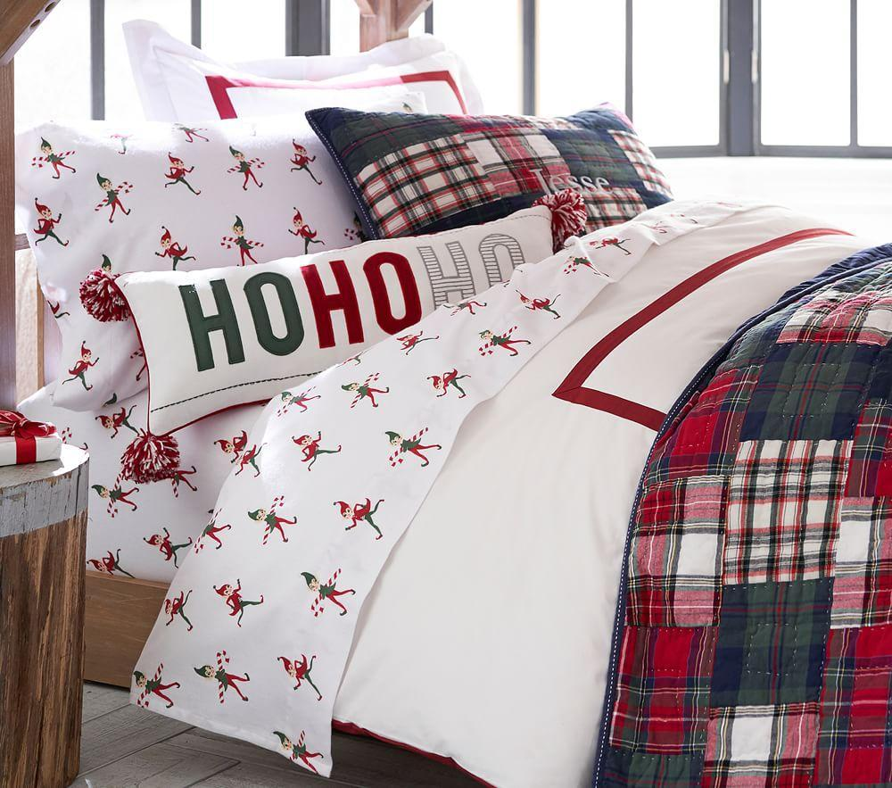 Ho Ho Ho Lumbar Cushion