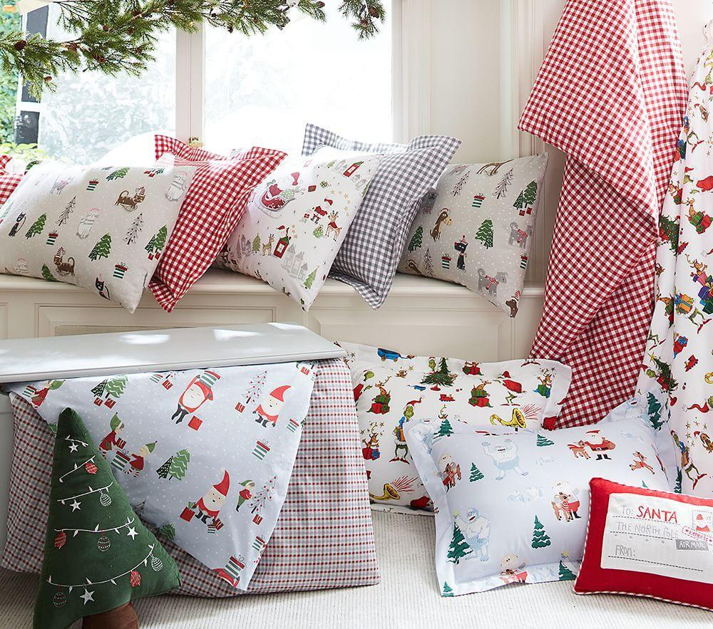 Letter to Santa Decorative Cushion Covers