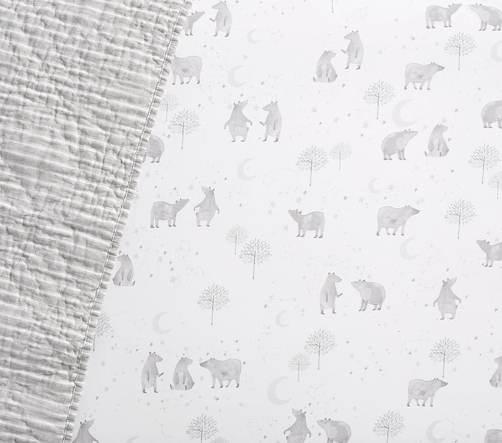 Organic Bear Cot Fitted Sheet