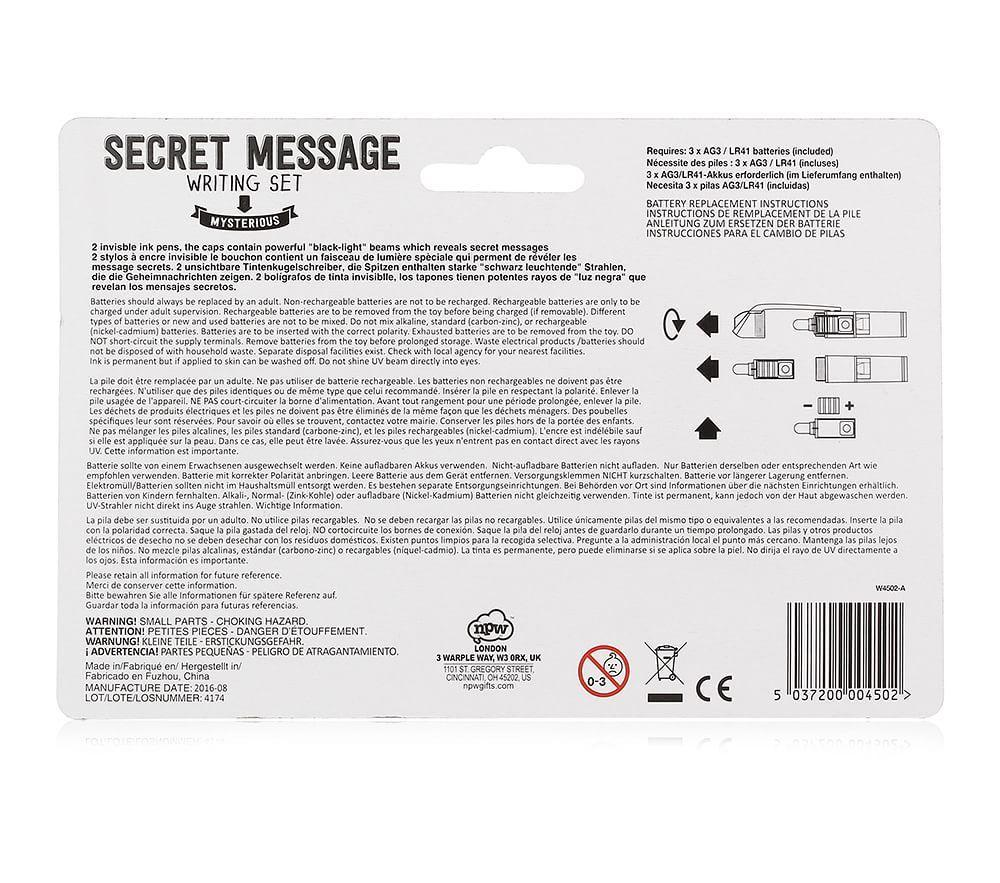 Secret Message Writing Set Pottery Barn Kids Au