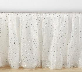 The Emily & Meritt Sparkle Tulle Bed Skirt