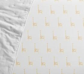 Giraffe Cot Fitted Sheet