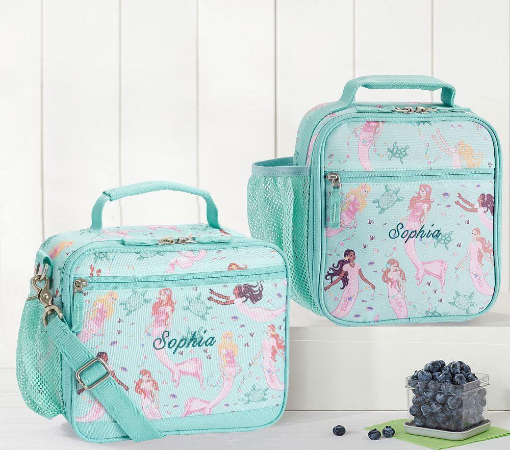Mackenzie Aqua Magical Mermaid Classic Lunch Bag