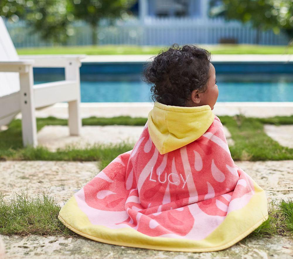 Pink Lemonade Baby Beach Wrap